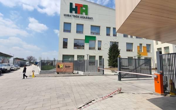 Благоустройство территории школа HTA